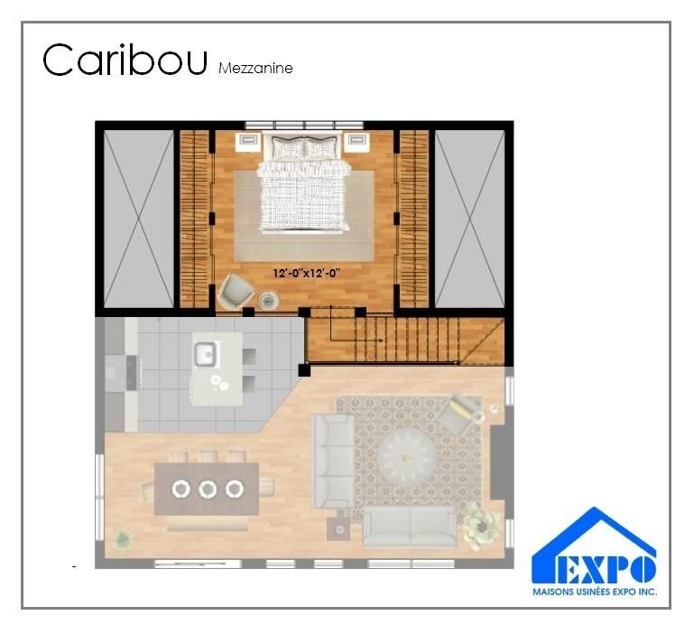 Mod les maisons usin es expo for Maison prefabriquee 20m2